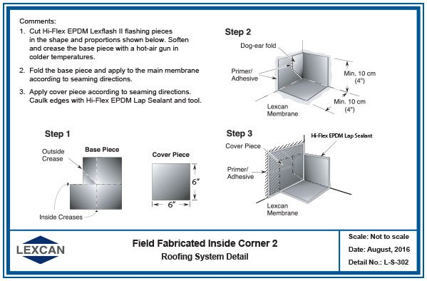 Hi Flex Epdm General Flashing Details